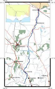 Map Of Rivers Campaspe River Murray River U2013 Wikipedia