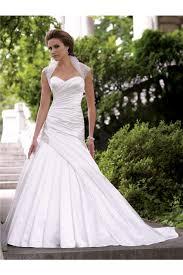 wedding dresses with bolero mermaid satin draped wedding dress with tulle bolero jacket