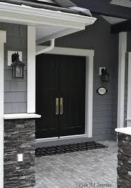 Best Paint For Exterior Door by Front Doors Cozy Black Painted Front Door Black Front Door What