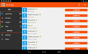 bills reminder android apps on google play
