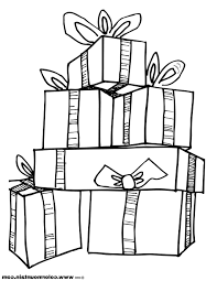 coloring sheets of christmas presents coloring pages christmas