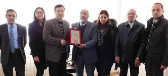 chambre de commerce fes réception d une délégation chinoise chambre de commerce d