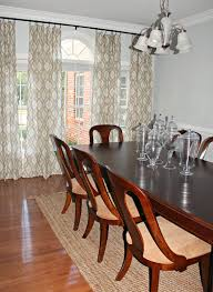 carolina on my mind dining room ikat curtains