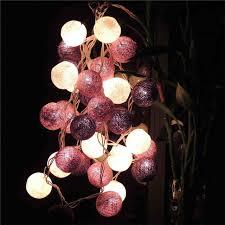 thailand 20 cotton balls led string light living room