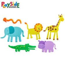 zoo animal foam stickers hobby lobby 1009547