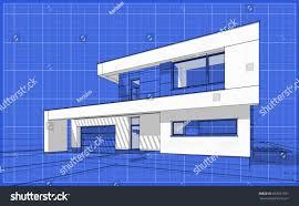 Floor Plan Grid Paper 3d Render Sketch Modern Cozy House Stock Illustration 663597391