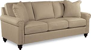 Lay Z Boy Sofa Traditional Rolled Arm Sofa With Premier Comfort Core Cushions By