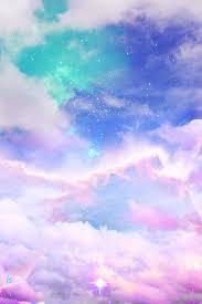 moody sky wallpapers art cute kawaii sky design space galaxy pink clouds pastel digital