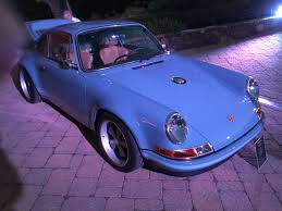 singer porsche blue i saw several singer porsches in one place