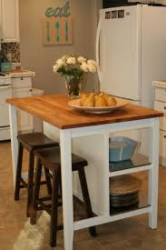 small kitchens with islands for seating take a of stock furniture and make it your own black