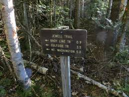 Mount Washington Trail Map by Mountain Wandering