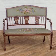 edwardian rosewood salon sofa antiques atlas