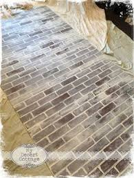 How To Paint A Faux Brick Wall - faux brick wall tutorial i think this would look cool in a