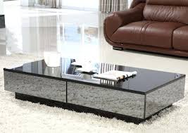 cheap mirrored coffee table small mirrored coffee table best daring alternatives of black