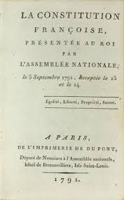 The Constitution Made No Mention Of A Presidential Cabinet The Constitution Of 1791