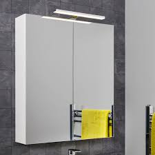 Bathroom Cabinets With Lights Bathroom Mirror Cabinets With Shaver Sockets And Lights Plumbworld