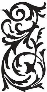 sm wrought iron scroll designer stencils wrought iron patterns