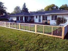 Backyard Fence Ideas Cheap Fence Ideas For Backyard Jeromecrousseau Us