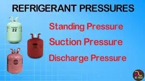 various refrigerant suction discharge and standing pressure youtube