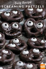 Easy Halloween Snacks by 360 Best Fun And Creepy Halloween Recipes Images On Pinterest