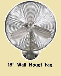 ecoplus wall mount fan litex 18 brushed nickel finish wall mounted fan 3 speeds fixed