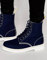 best beautiful charms dr martens blue men boots 8 eye page