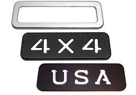 jeep wrangler brake light cover all sales jeep wrangler billet aluminum third brake light cover