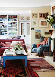 home of artist annie herron from country style magazine photo by