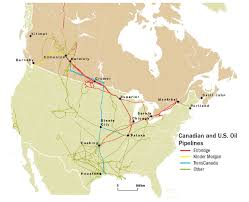 Pipeline Map Of North America by Oil Sands Pipeline Safety Natural Resources Canada