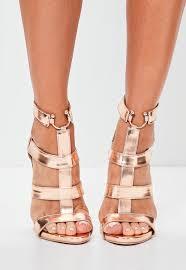 gold heels women u0027s gold heels online missguided