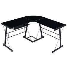 Small Glass Top Computer Desk Desk Black And Bronze Desk Cozy Black And Bronze Desk Black