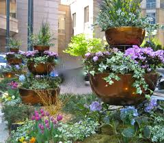 outdoor flower planter ideas garden ideas