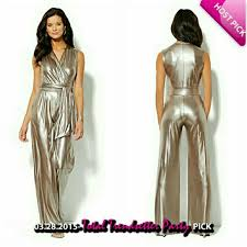 stylish jumpsuits 46 york company hp stylish silver jumpsuit