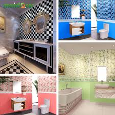 online get cheap countertop backsplash aliexpress com alibaba group new waterproof bathroom mosaic tiles vinyl pvc self adhesive wallpaper for kitchen countertop wall stickers oil proof backsplash
