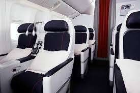 siege plus air premium economy service on board