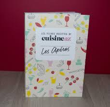 cuisine az recettes première publication en livre avec cuisine az