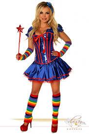 Rainbow Halloween Costume 6 Pc Rainbow Costume Amiclubwear Costume Store