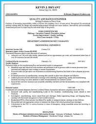 Senior Auditor Resume Sample by Security Clearance On Resume Internal Audit Resume Format
