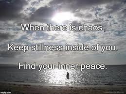 Inner Peace Meme - alone water imgflip