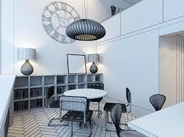 loft apartment interior 3d model cgtrader