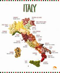 Campania Italy Map by This Food Stylist Makes Maps Out Of Regional Delicacies Saveur