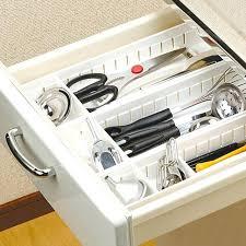 kitchen cabinet knife drawer organizers kitchen cabinet knife drawer organizers japan style plastic kitchen
