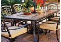 patio table with removable tiles nice niles park 5 piece sling patio dining set graphics lakgaen com