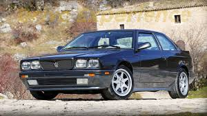 1985 maserati biturbo the black sheep of these 10 reputable car manufacturers