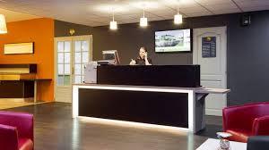 Accessible Reception Desk Information Comfort Hotel Metz Woippy Route De Thionville