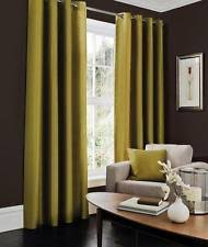 Curtains 240cm Drop Ready Made Green Curtains And Blinds Ebay