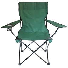 Green Outdoor Chairs Shop Garden Treasures Green Steel Camping Chair At Lowes Com