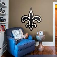 New Orleans Wall Decor New Orleans Saints Fathead Wall Decals U0026 More Shop Nfl Fathead