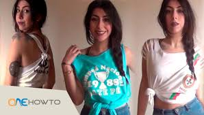 Image Swag Pour Fille by 3 Diy T Shirt Cutting Designs Youtube