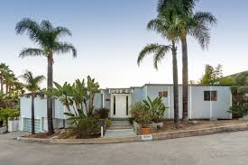 Midcentury Modern House - mid century modern architecture real estate sunset strip